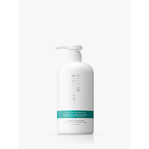 Buy Philip Kingsley Moisture Balancing Conditioner, 1000ml Online at johnlewis.com