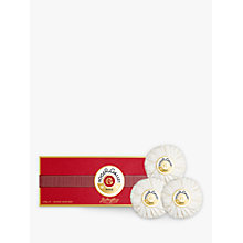 Buy Roger & Gallet Jean Marie Farina Soap Set, 3 x 100g Online at johnlewis.com