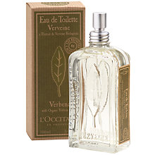 Buy L'Occitane Verbena Eau de Toilette, 100ml Online at johnlewis.com
