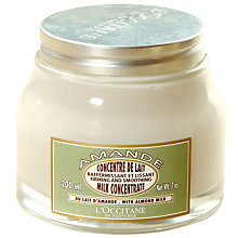 Buy L'Occitane Firming Almond Milk Concentrate, 200ml Online at johnlewis.com