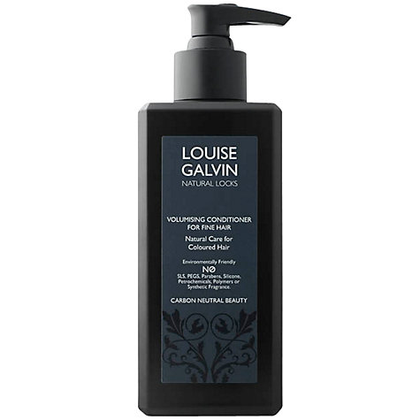 Buy Louise Galvin Natural Locks Volumising Conditioner for Fine Hair, 300ml Online at johnlewis.com