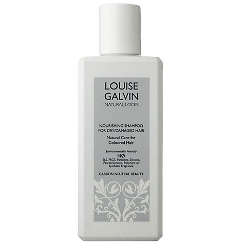 Buy Louise Galvin Natural Locks Nourishing Shampoo for Dry/Damaged Hair, 300ml Online at johnlewis.com
