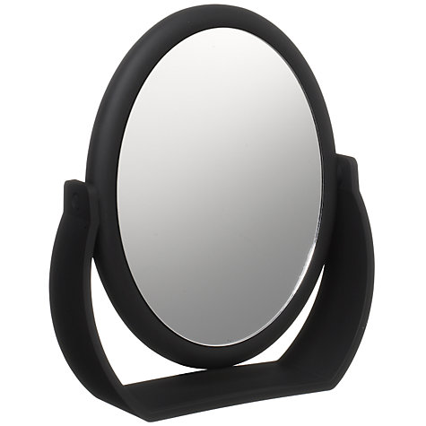 Buy John Lewis 7x Make-Up Mirror, Black Online at johnlewis.com