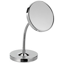 Buy John Lewis Flexi 7x Magnification Mirror, Chrome Online at johnlewis.com