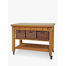 Buy Eddingtons Lambourne Butcher's Trolley, 120cm Online at johnlewis.com