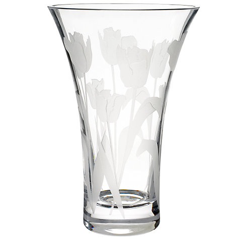 Buy John Lewis Tulip Flared Vase Online at johnlewis.com