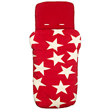 Buy John Lewis Baby Star Footmuff, Red Online at johnlewis.com