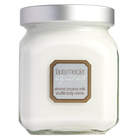 Buy Laura Mercier Almond Coconut Milk Soufflé Body Crème, 300g Online at johnlewis.com