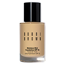 Buy Bobbi Brown Moisture Rich Foundation Online at johnlewis.com