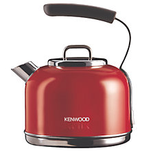 Buy Kenwood kMix Traditional Kettle and 2-Slice Toaster, Red Online at johnlewis.com