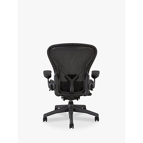 Buy Herman Miller Aeron Office Chair, Size B, Graphite Online at johnlewis.com