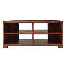 "Buy John Lewis Stowaway Corner Media Unit for TVs up to 37"" Online at johnlewis.com"