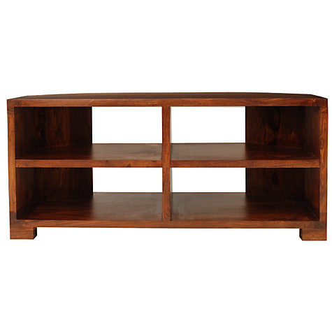 "Buy John Lewis Stowaway Corner Media Unit for up to 37"" TVs Online at johnlewis.com"