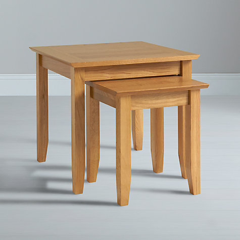 Buy John Lewis Ellis Nest of 2 Table Online at johnlewis.com