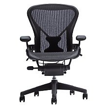Buy Herman Miller Aeron Office Chair, Size A Online at johnlewis.com