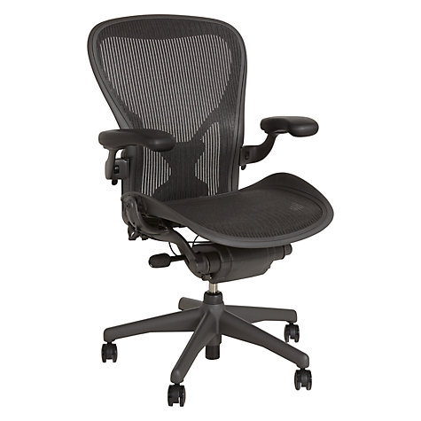 Buy Herman Miller Aeron Office Chair, Size C Online at johnlewis.com