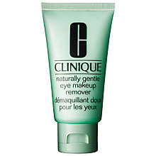 Buy Clinique Naturally Gentle Eye Make-up Remover - All Skin Types, 75ml Online at johnlewis.com
