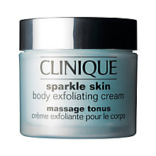 Buy Clinique Sparkle Skin Body Exfoliating Cream, 250ml Online at johnlewis.com
