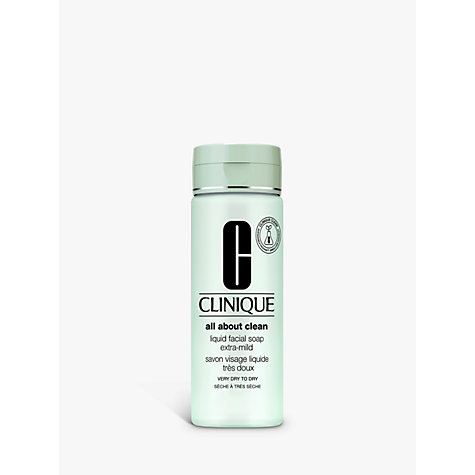 Buy Clinique Liquid Facial Soap - Extra Mild, 200ml Online at johnlewis.com