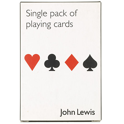 Buy Pack of Playing Cards, Single Online at johnlewis.com