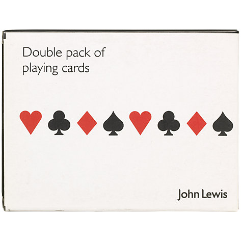 Buy Pack of Playing Cards, Double Online at johnlewis.com