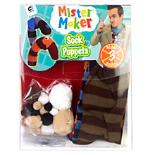 Buy Mister Maker Sock Puppets Online at johnlewis.com