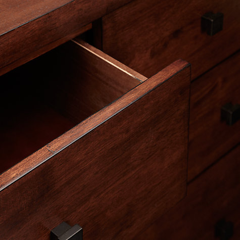 Buy John Lewis Kerala Low Wide, 4 + 3 Drawer Chest Online at johnlewis.com
