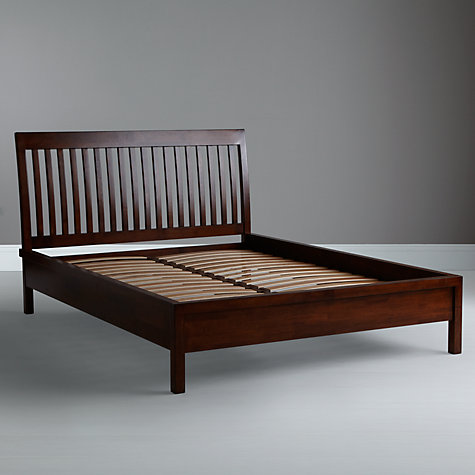 Buy John Lewis Kerala Bedstead, Rich Cherry, Kingsize Online at johnlewis.com