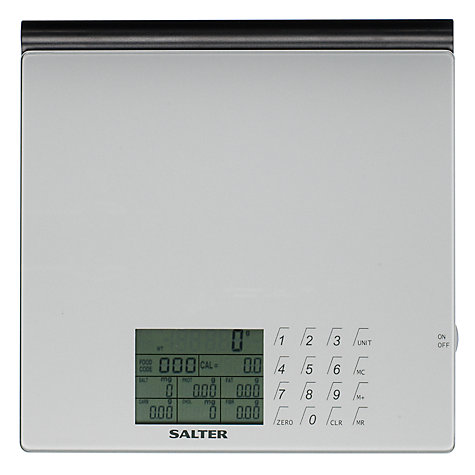 Buy Salter Nutri-weigh Slim Electronic Scale Online at johnlewis.com