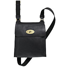 Buy Mulberry Antony Leather Messenger Across Body Bag Online at johnlewis.com