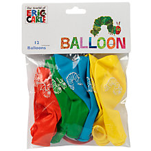 Buy Hungry Caterpillar Balloons, Pack of 12 Online at johnlewis.com