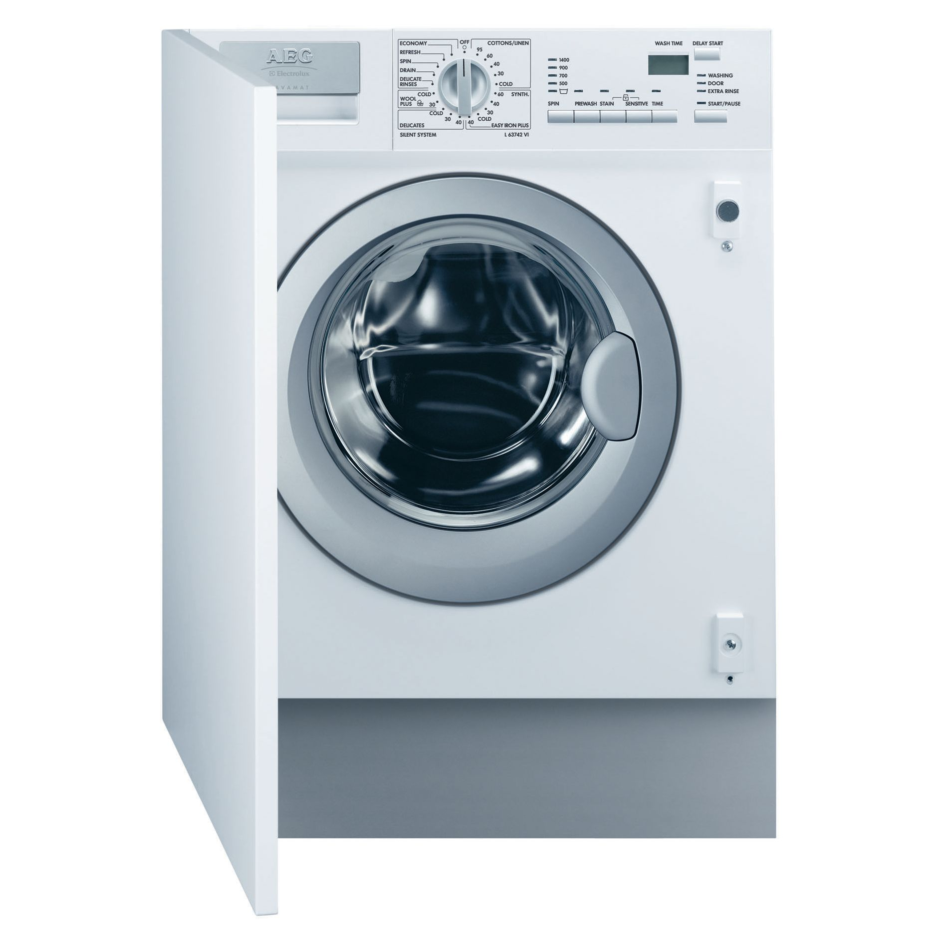 AEG L63742Vi Integrated Washing Machine
