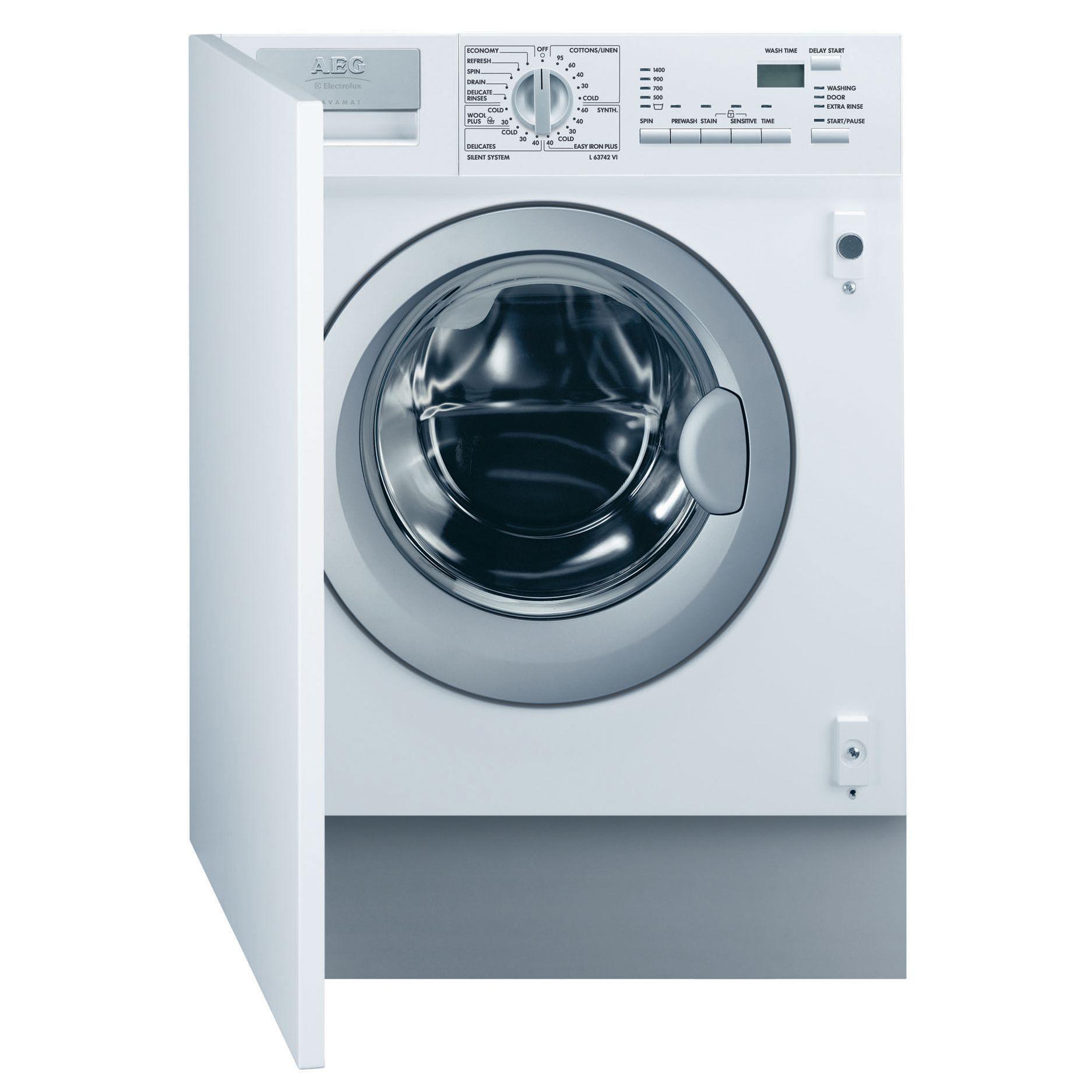 AEG L63742Vi Integrated Washing Machine