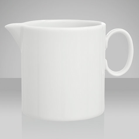 Buy Thomas Medaillon White Cream Jug Online at johnlewis.com