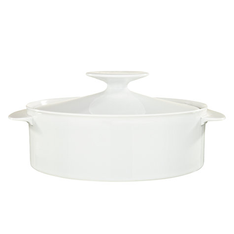 Buy Thomas Medaillon White Covered Vegetable Dish Online at johnlewis.com