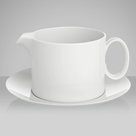 Buy Rosenthal Thomas Medaillon Sauce Boat & Stand Online at johnlewis.com