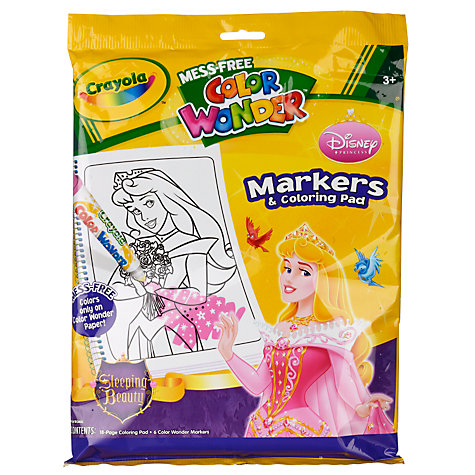 Buy Crayola Colour Wonder Disney Princess Colouring Set Online at johnlewis.com