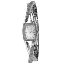 Buy DKNY NY4633 Women's Diamanté Bracelet Watch, Silver Online at johnlewis.com