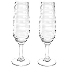 Buy Sophie Conran for Portmeirion Champagne Flutes, Set of 2 Online at johnlewis.com
