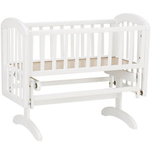 Buy John Lewis Anna Glider Crib, White Online at johnlewis.com