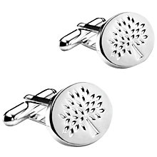 Buy Mulberry Oval Tree Cufflinks Online at johnlewis.com