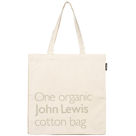 Buy John Lewis Organic Cotton Bag Online at johnlewis.com