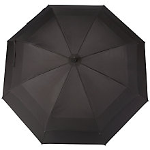 Buy Fulton Stormshield Double Canopy Walker Umbrella, Black Online at johnlewis.com