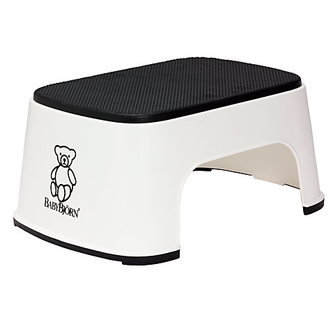 Buy BabyBjörn Safe Step, White Online at johnlewis.com