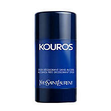 Buy Yves Saint Laurent Kouros Alcohol Free Deodorant Stick, 75g Online at johnlewis.com