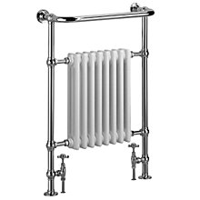 Buy Bristan Harmonia 1 Towel Rail, 95 x 68cm Online at johnlewis.com
