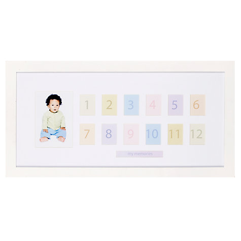Buy Pearhead Photo Time Frame, White Online at johnlewis.com