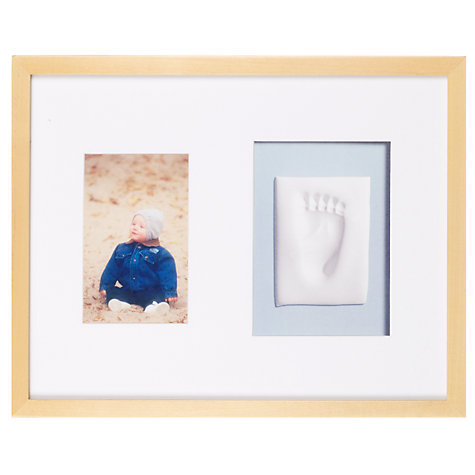 Buy Pearhead Baby Prints Wall Frame, Natural Online at johnlewis.com