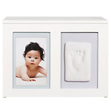 "Buy Pearhead Baby Prints Memory Box Multi-Aperture, 2 Photo, 4 x 6"" (10 x 15cm) or 5 x 7"" (13 x 18cm) Online at johnlewis.com"