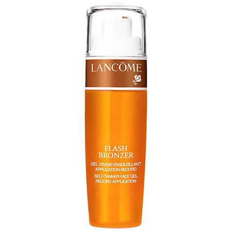 Buy Lancôme Flash Bronzer Face Gel Online at johnlewis.com